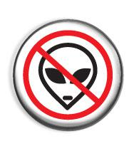 No aliens - placka